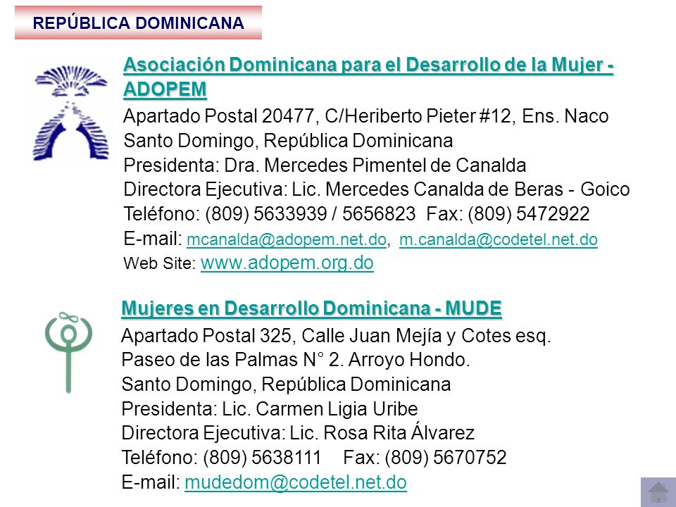Asociación Dominicana para el Desarrollo de la Mujer - ADOPEM