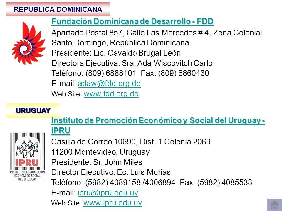 Fundación Dominicana de Desarrollo - FDD