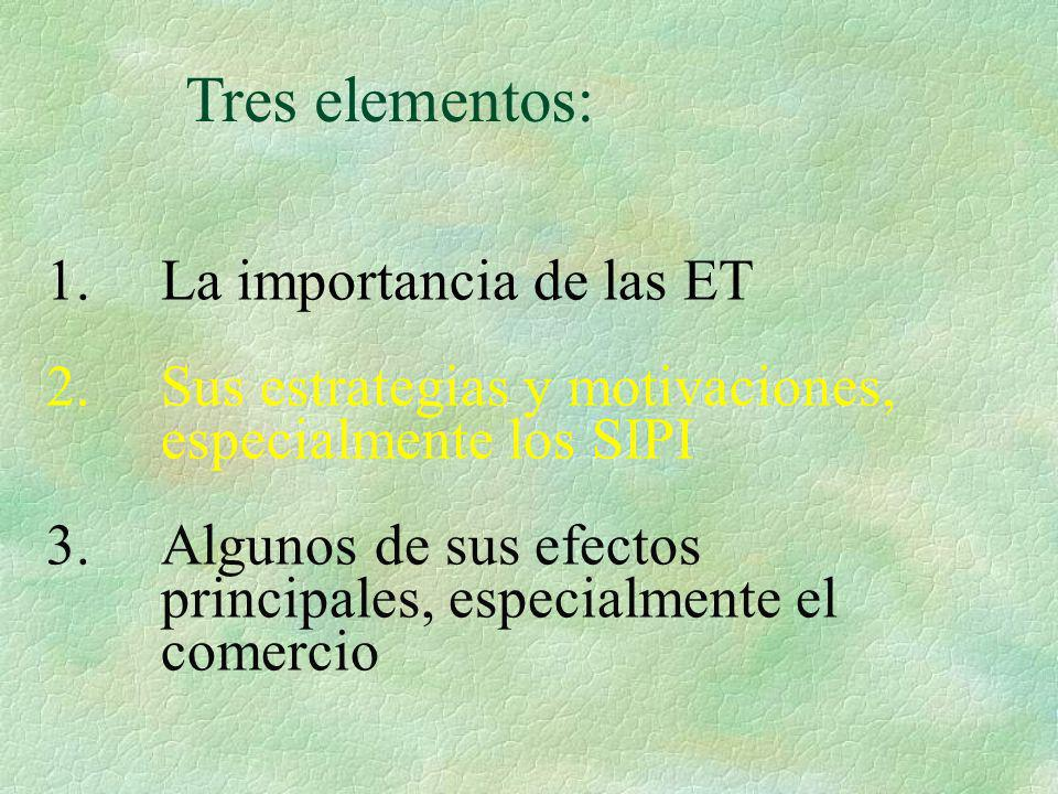 Tres elementos: