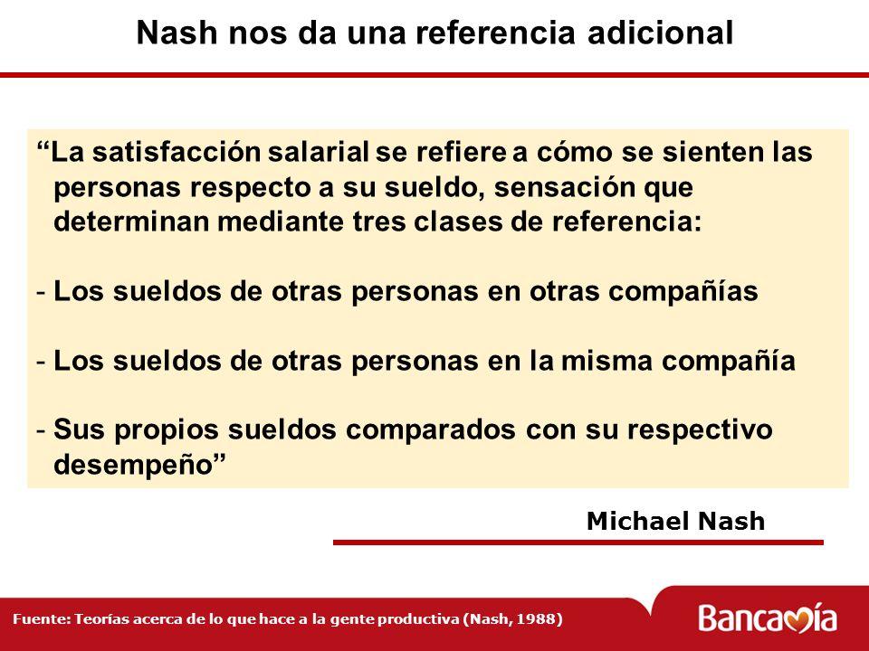 Nash nos da una referencia adicional