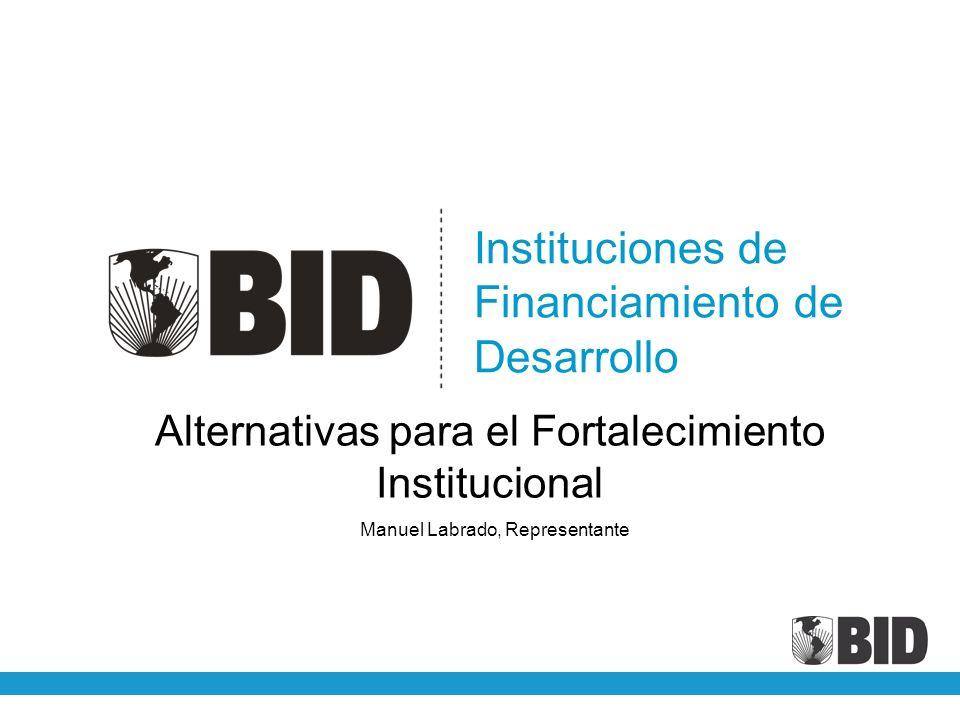 Instituciones de Financiamiento de Desarrollo