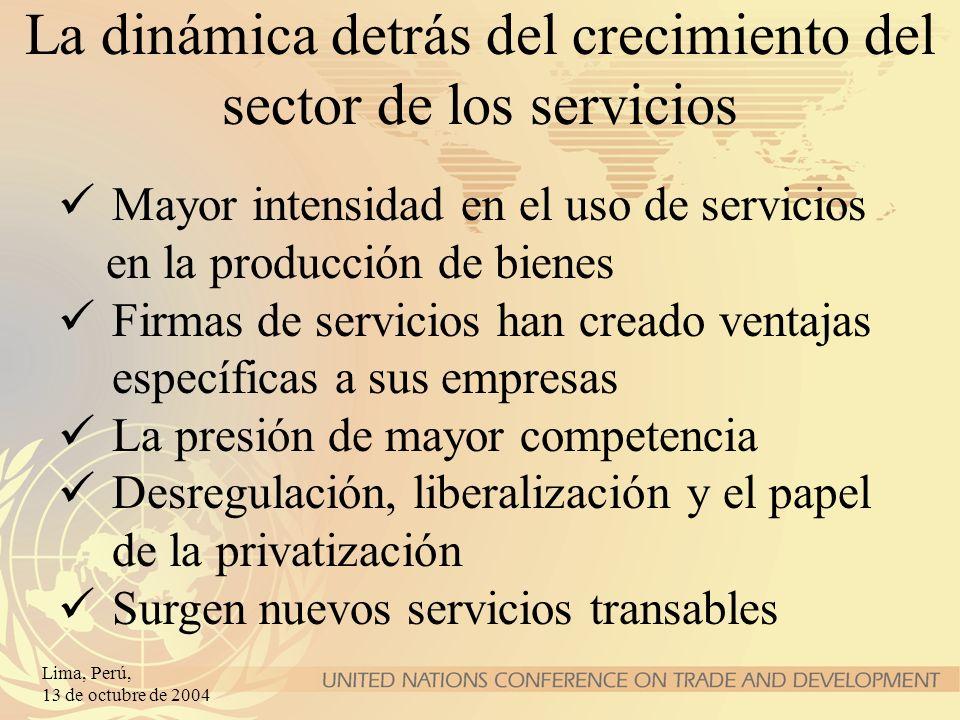La dinámica detrás del crecimiento del sector de los servicios