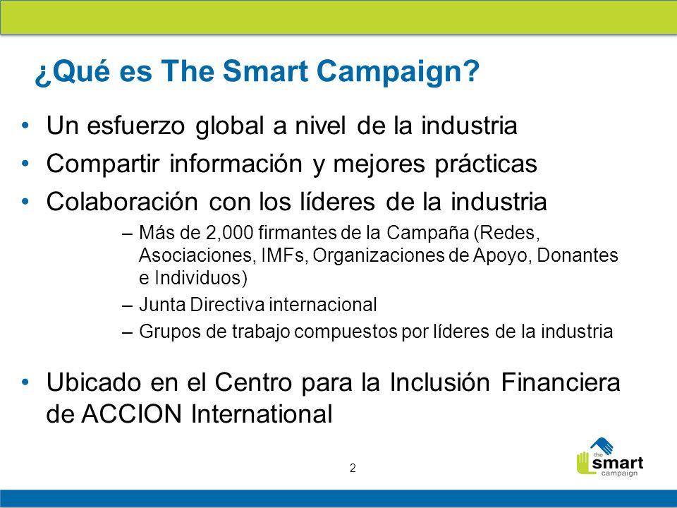 ¿Qué es The Smart Campaign
