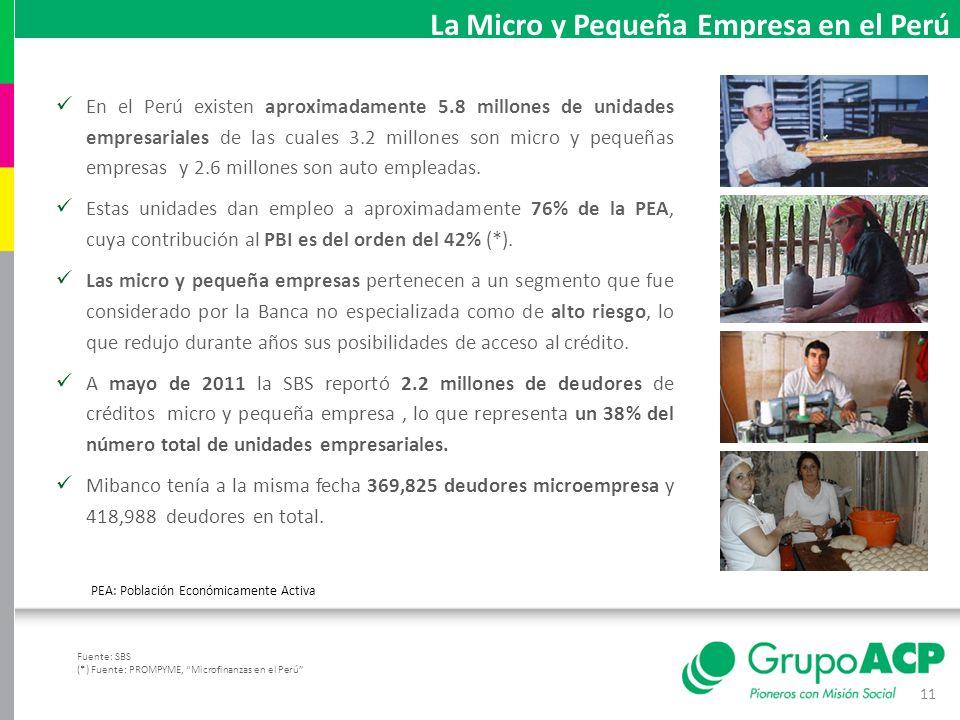 La Micro y Pequeña Empresa en el Perú