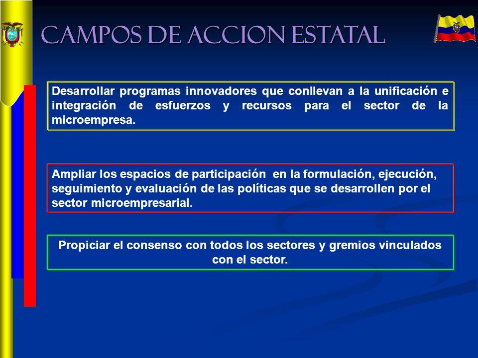 CAMPOS DE ACCION ESTATAL