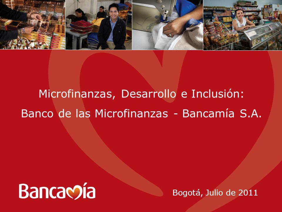Microfinanzas, Desarrollo e Inclusión: