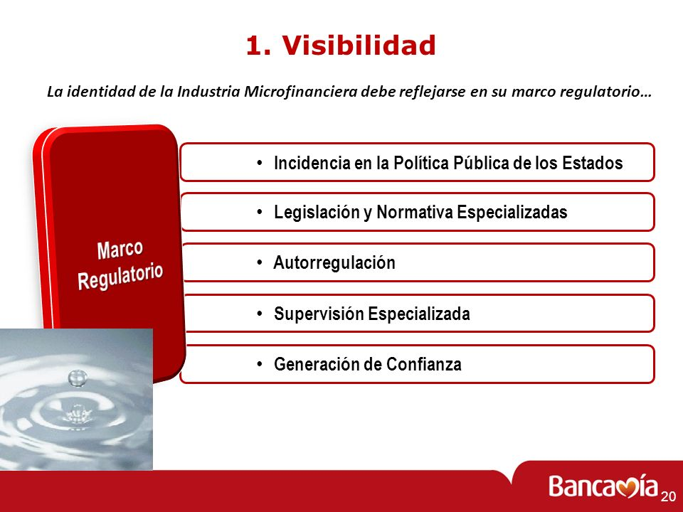 1. Visibilidad Marco Regulatorio
