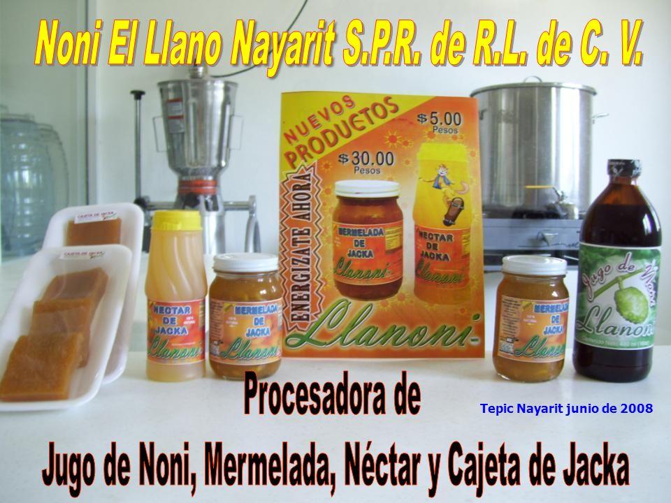 Noni El Llano Nayarit S.P.R. de R.L. de C. V.