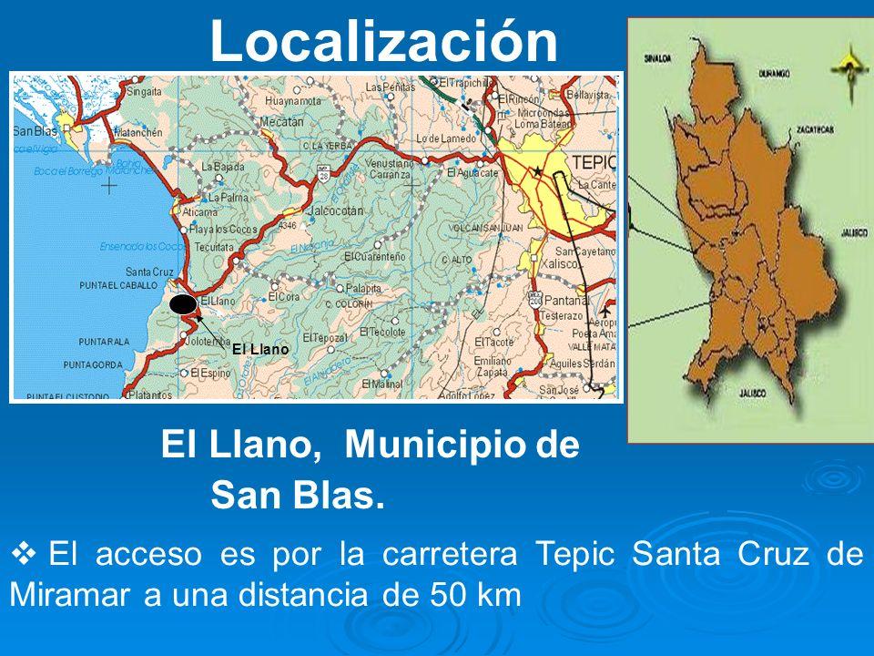 El Llano, Municipio de San Blas.