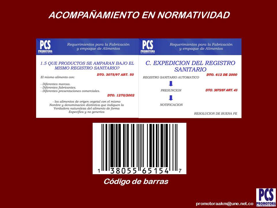 ACOMPAÑAMIENTO EN NORMATIVIDAD