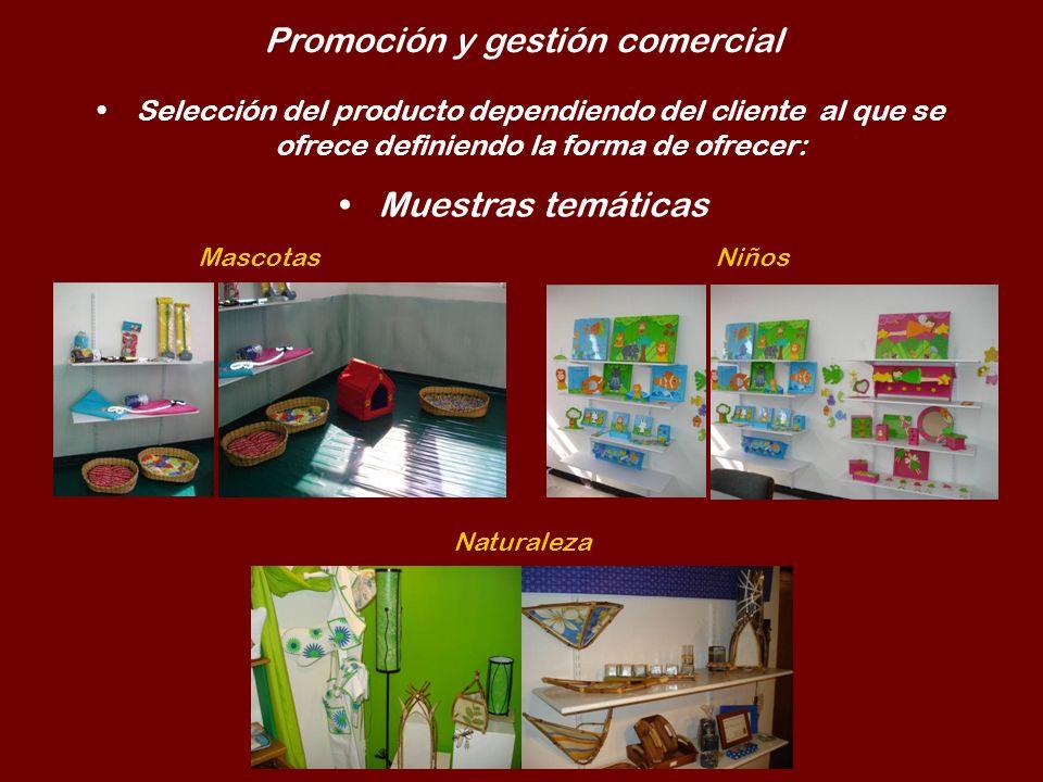 Promoción y gestión comercial