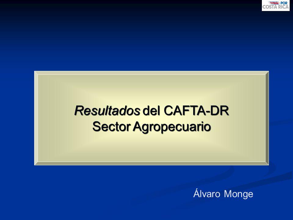 Resultados del CAFTA-DR
