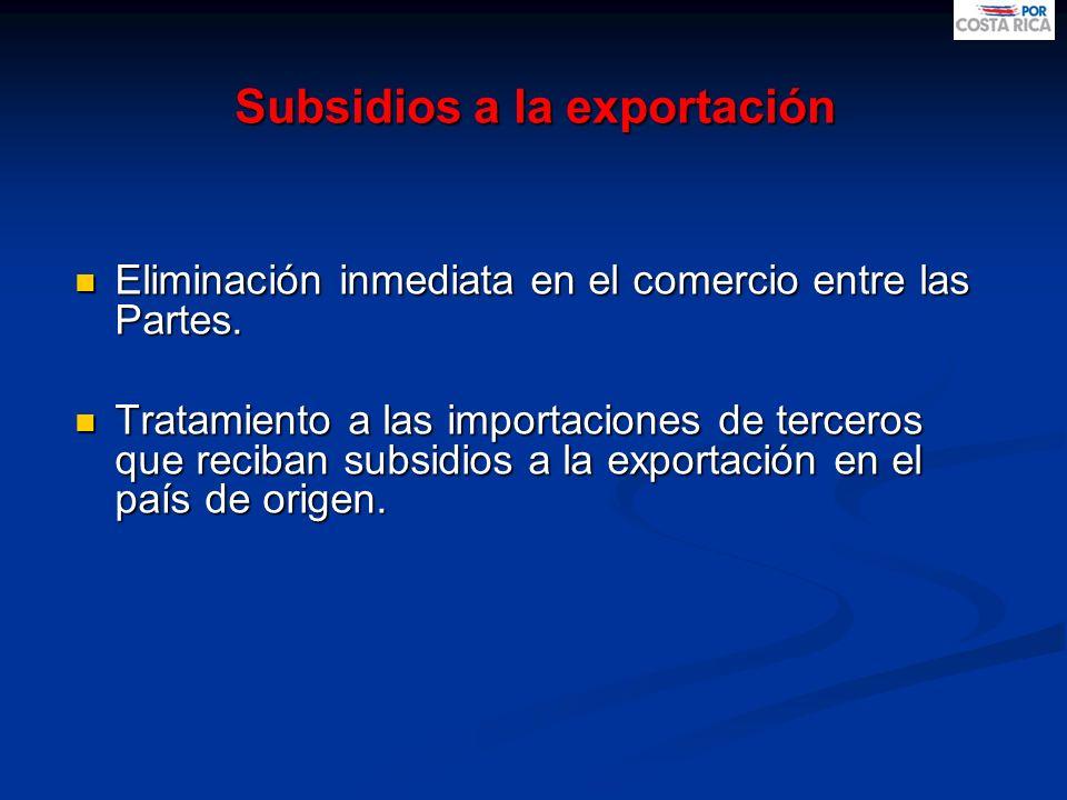 Subsidios a la exportación