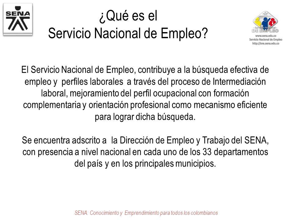 Servicio nacional de empleo creditopaybrac for Servicio de empleo