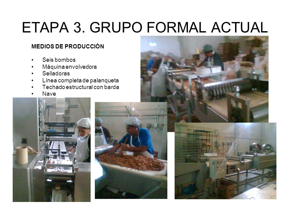 ETAPA 3. GRUPO FORMAL ACTUAL
