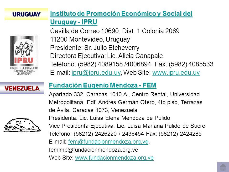 Instituto de Promoción Económico y Social del Uruguay - IPRU