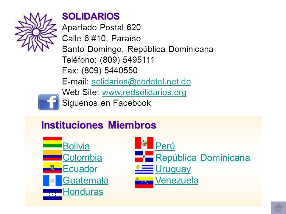 Instituciones Miembros