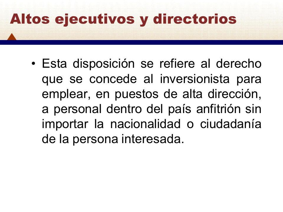 Altos ejecutivos y directorios