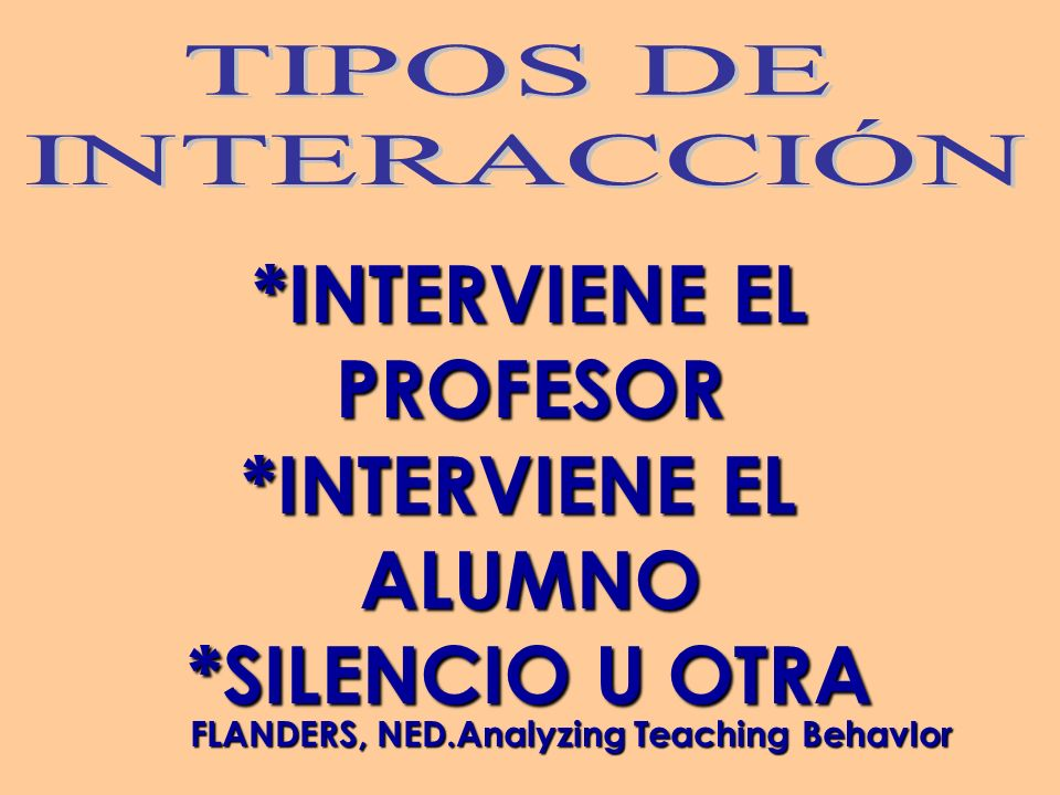 FLANDERS, NED.Analyzing Teaching BehavIor
