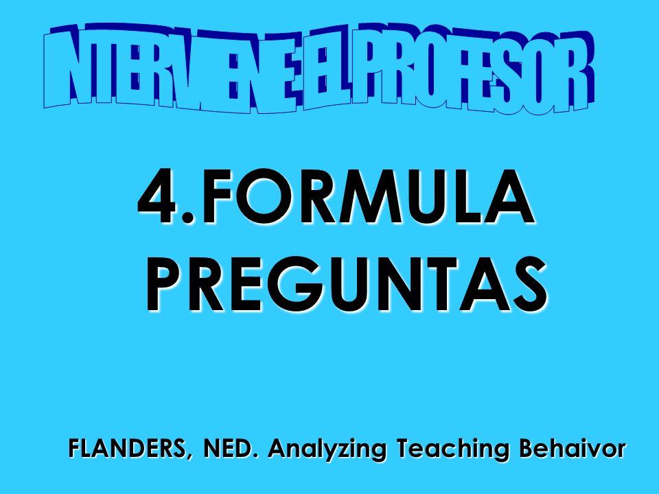 FLANDERS, NED. Analyzing Teaching Behaivor