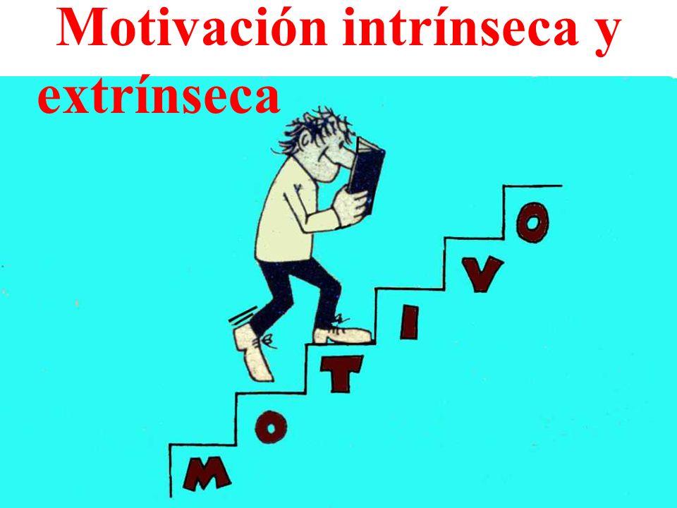 Motivación intrínseca y