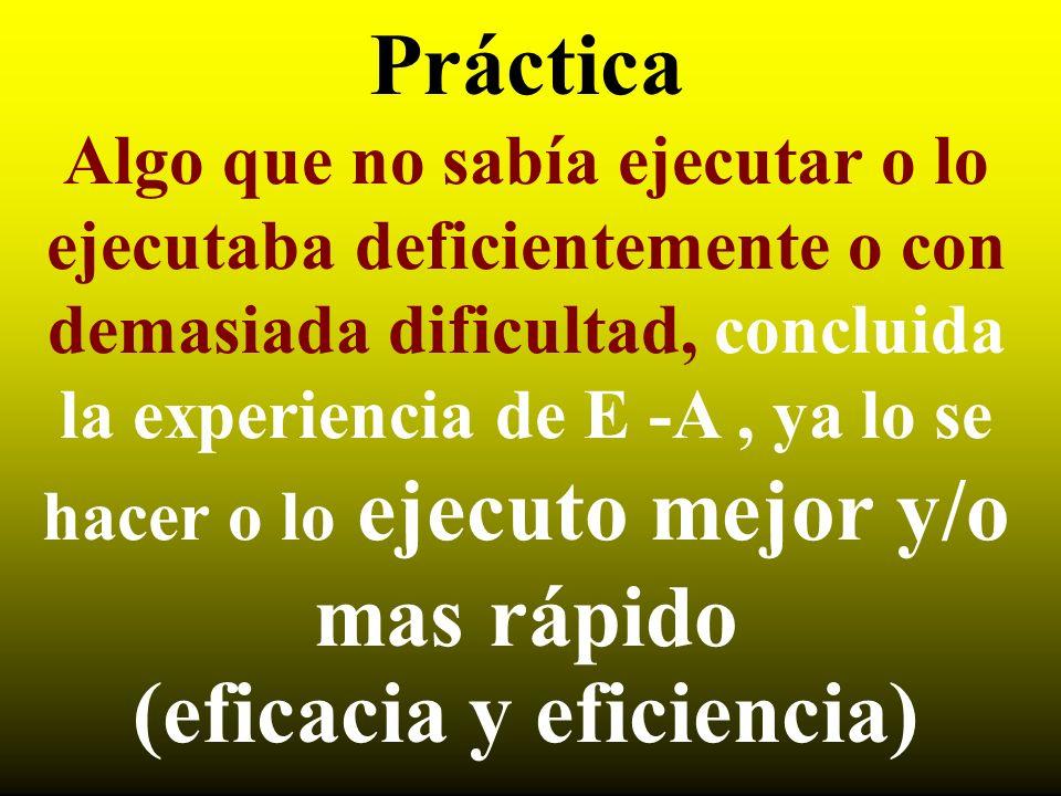 (eficacia y eficiencia)