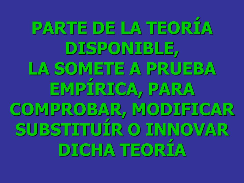 PARTE DE LA TEORÍA DISPONIBLE,
