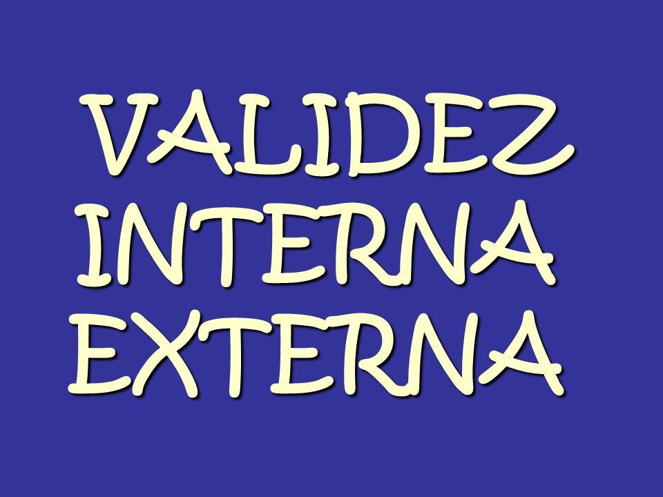 VALIDEZ INTERNA EXTERNA