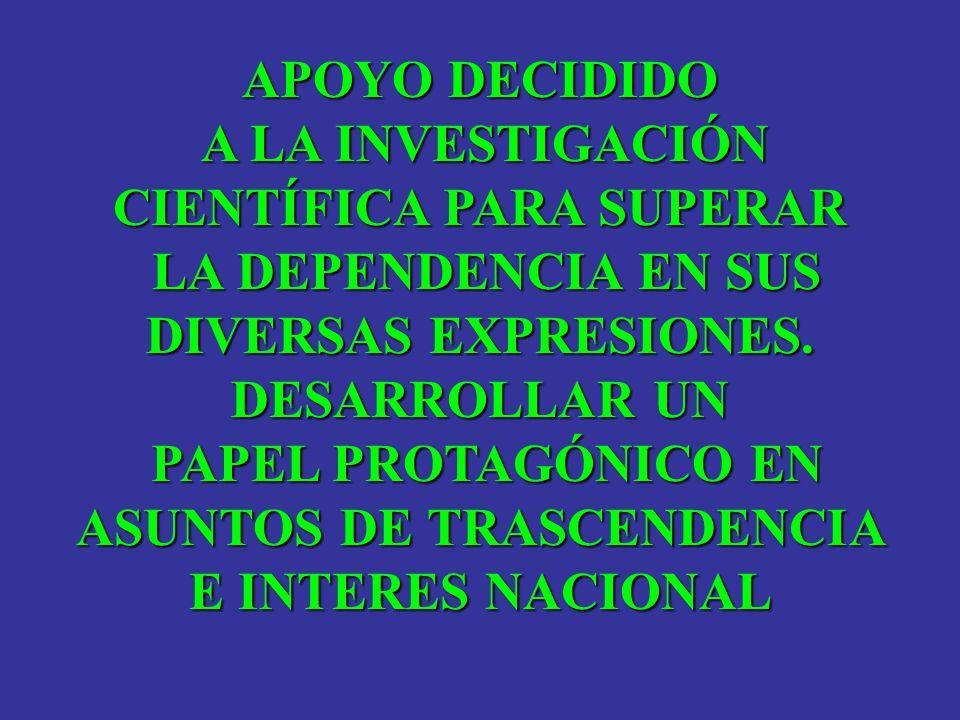 CIENTÍFICA PARA SUPERAR ASUNTOS DE TRASCENDENCIA