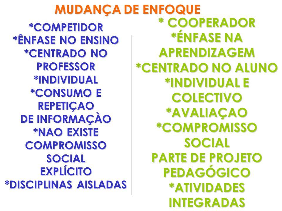 *INDIVIDUAL E COLECTIVO *AVALIAÇAO *COMPROMISSO SOCIAL