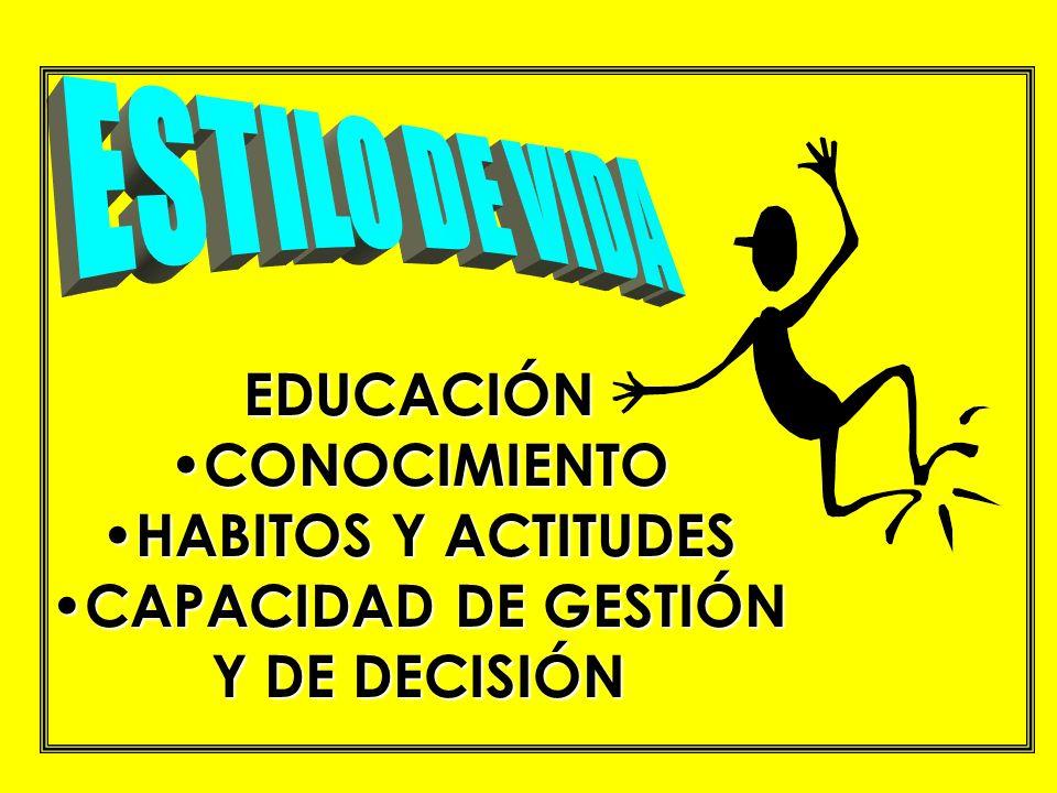 CAPACIDAD DE GESTIÓN Y DE DECISIÓN
