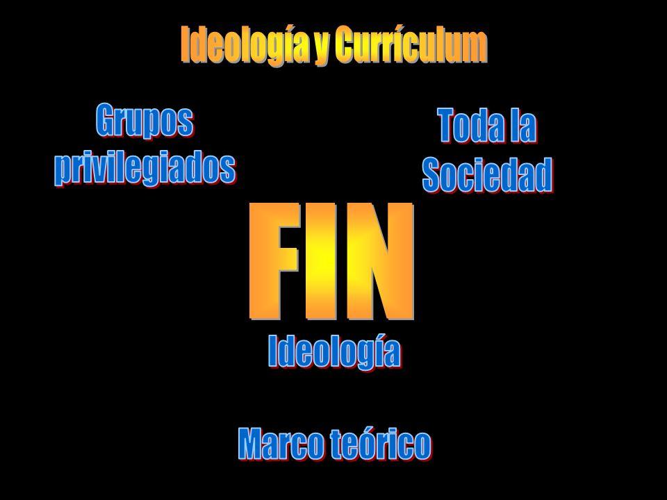 Ideología y Currículum