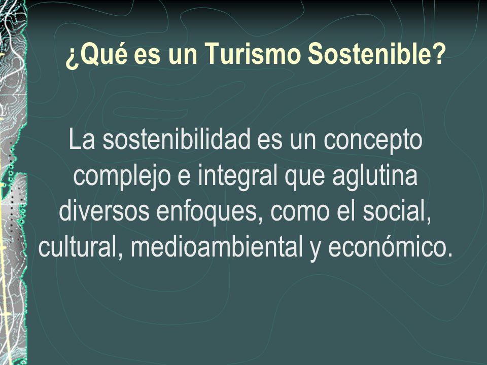 ¿Qué es un Turismo Sostenible