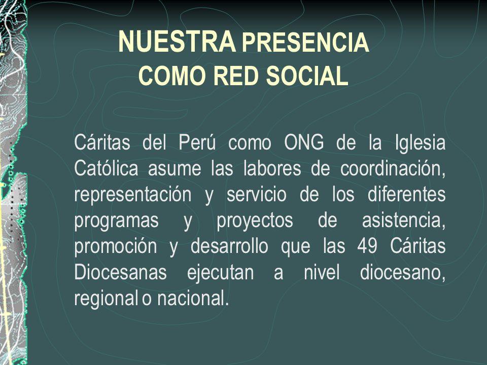 NUESTRA PRESENCIA COMO RED SOCIAL