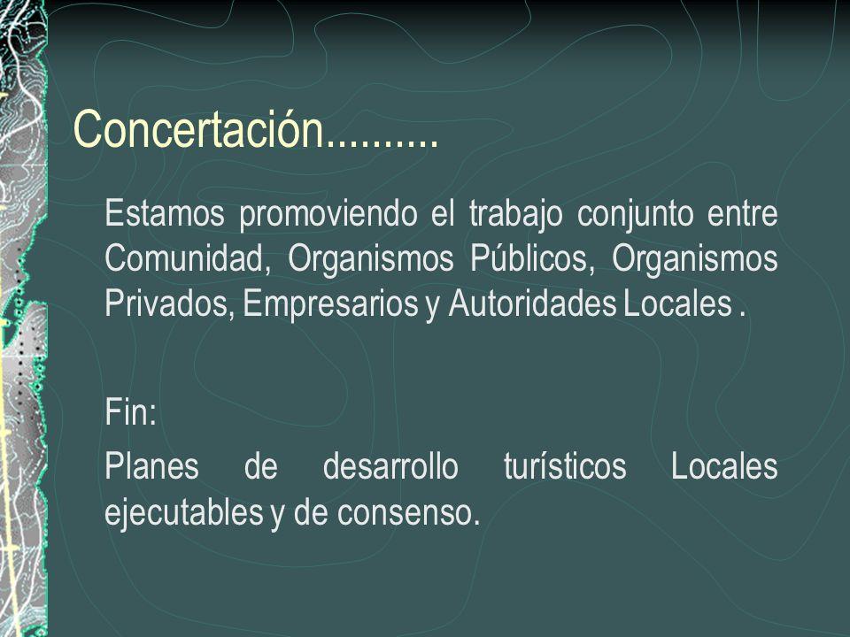 Concertación..........