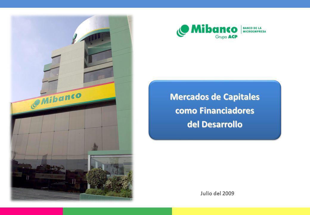 Mercados de Capitales como Financiadores del Desarrollo