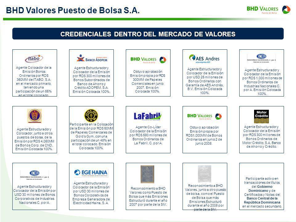 CREDENCIALES DENTRO DEL MERCADO DE VALORES