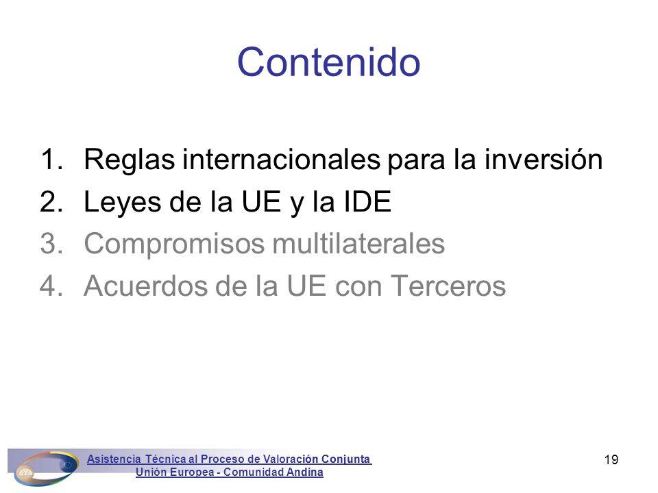Unión Europea - Comunidad Andina
