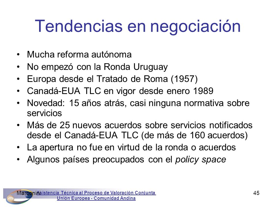 Tendencias en negociación
