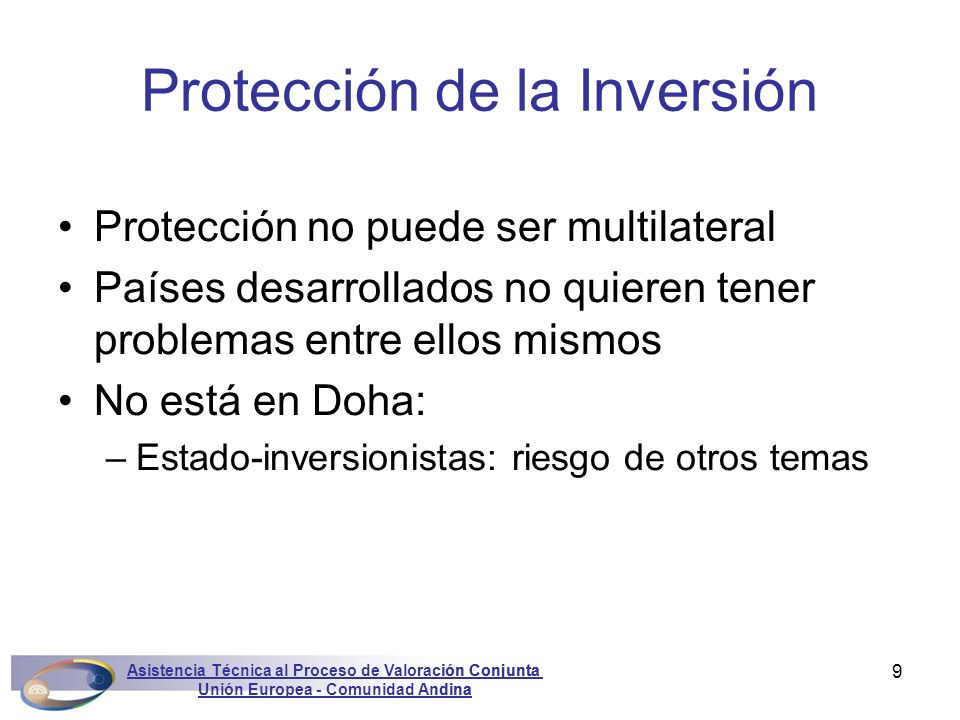 Protección de la Inversión
