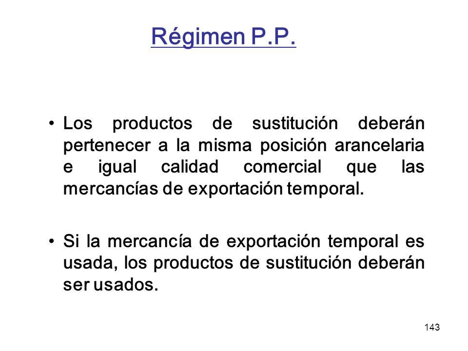 Régimen P.P.