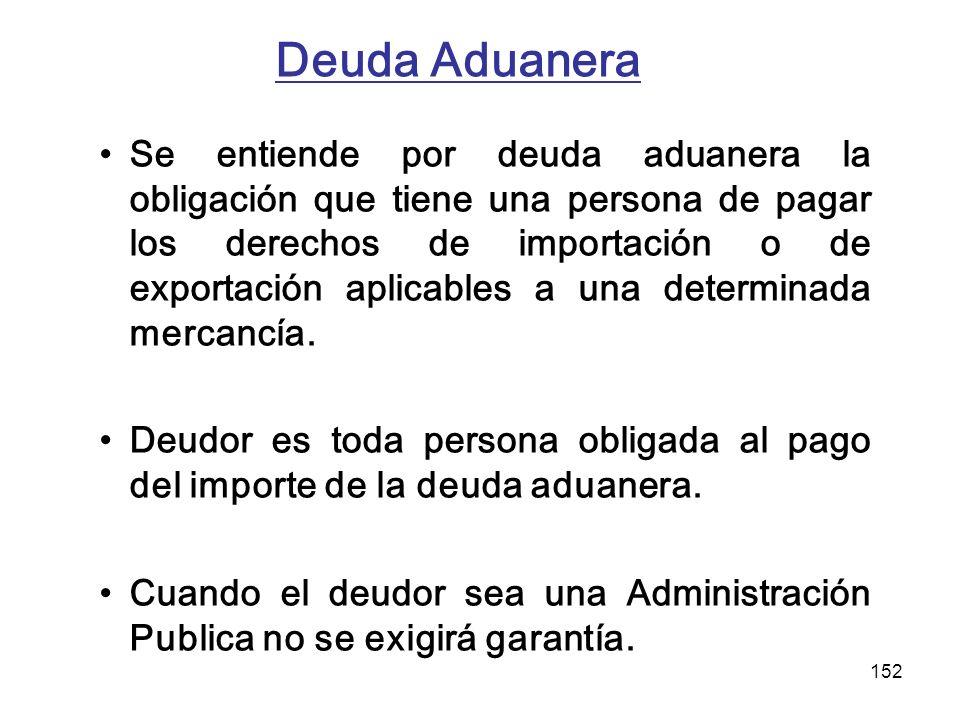 Deuda Aduanera