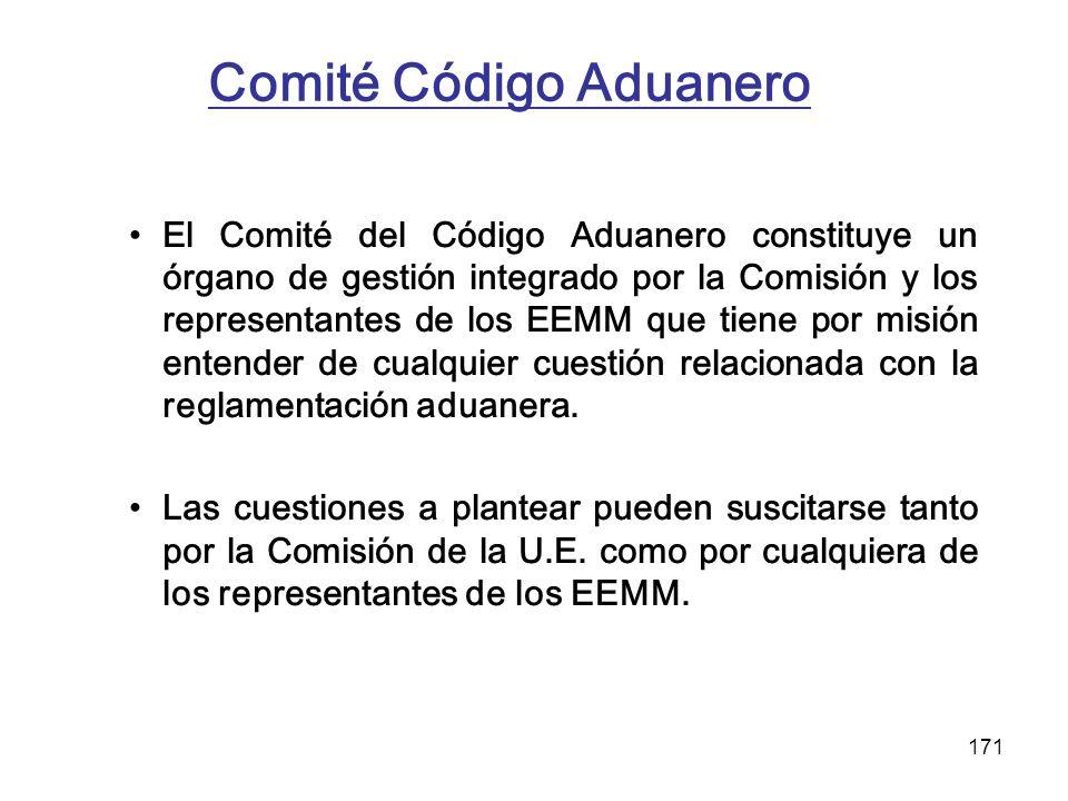 Comité Código Aduanero