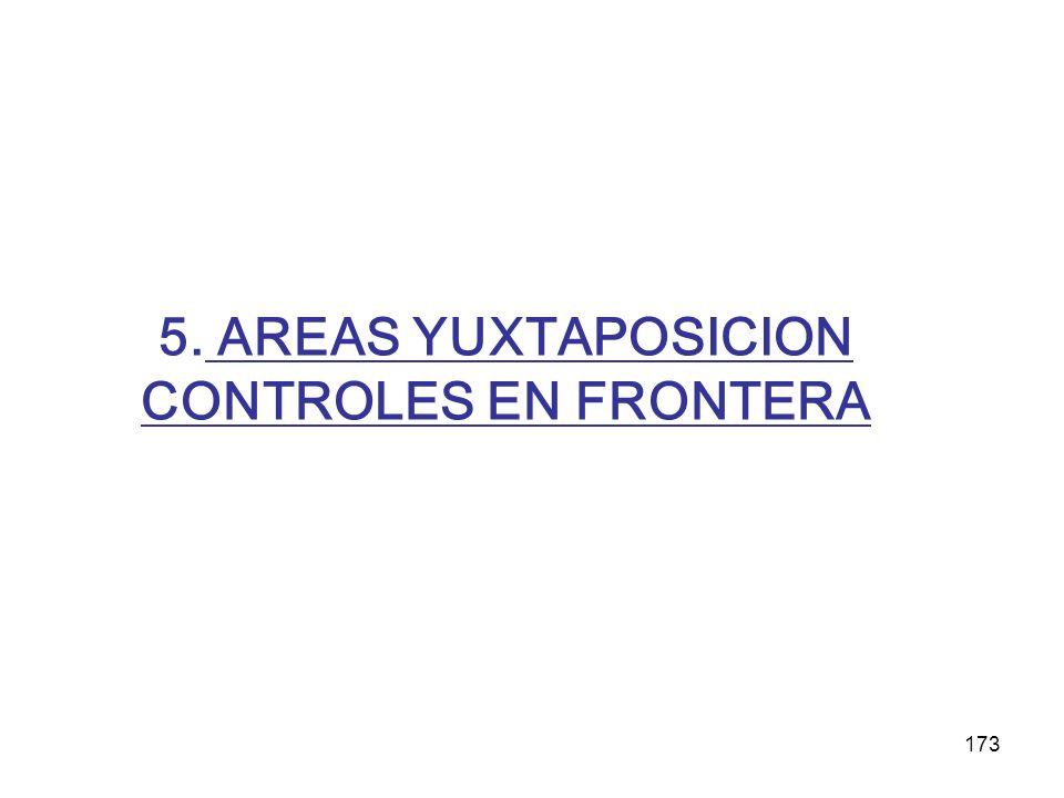 5. AREAS YUXTAPOSICION CONTROLES EN FRONTERA