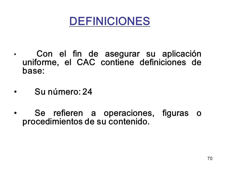 DEFINICIONES Su número: 24