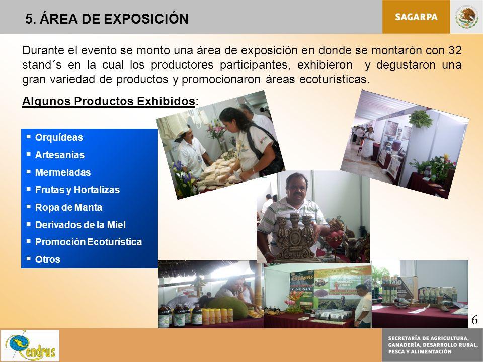 5. ÁREA DE EXPOSICIÓN