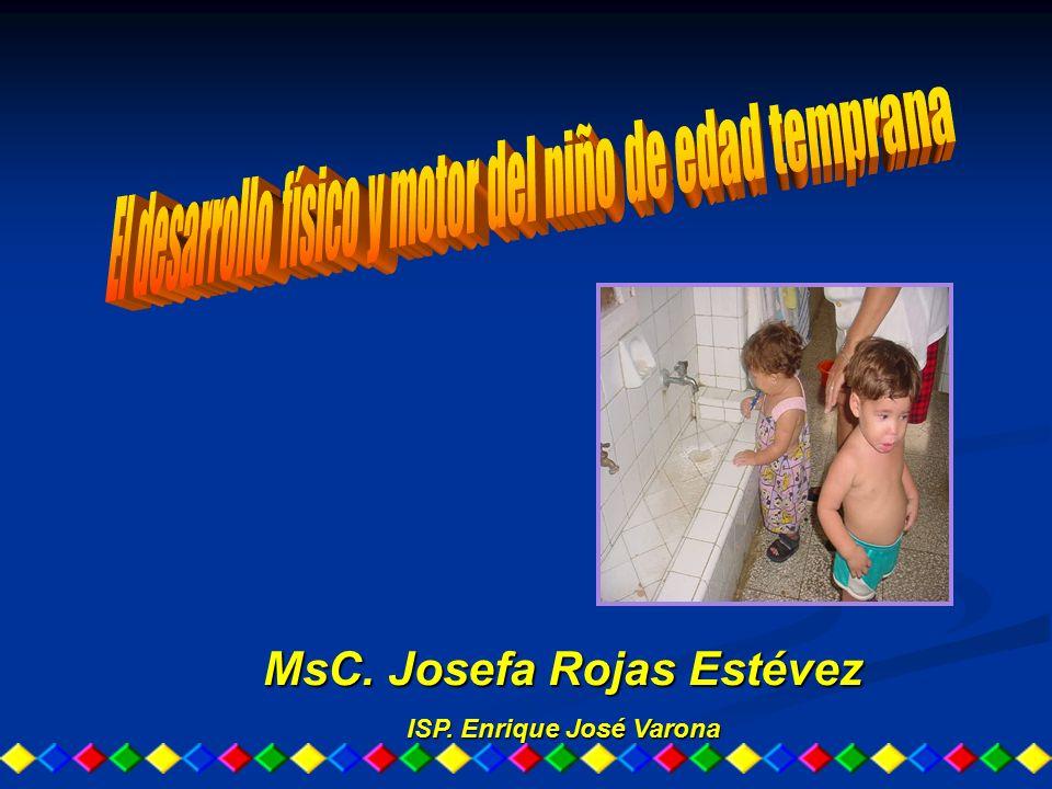MsC. Josefa Rojas Estévez ISP. Enrique José Varona
