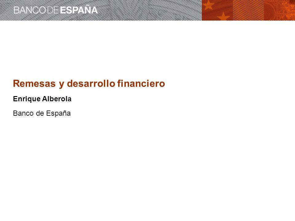 Remesas y desarrollo financiero