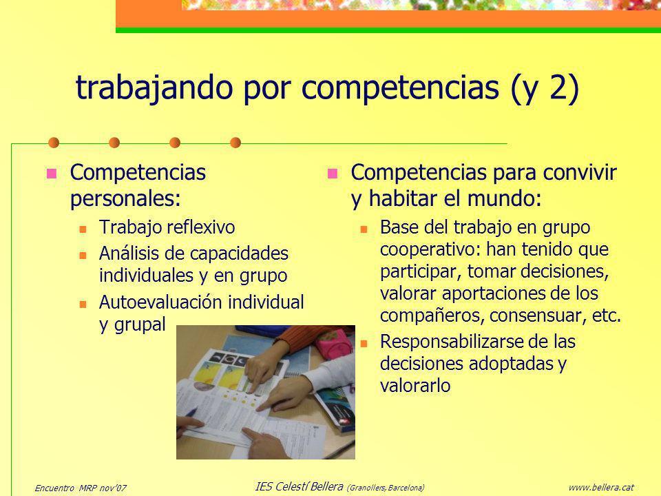 trabajando por competencias (y 2)