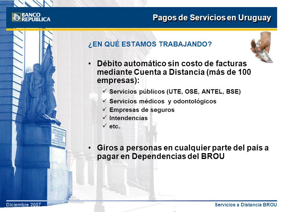 Pagos de Servicios en Uruguay